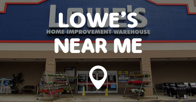 Lowe s near me points near me for Home accents near me