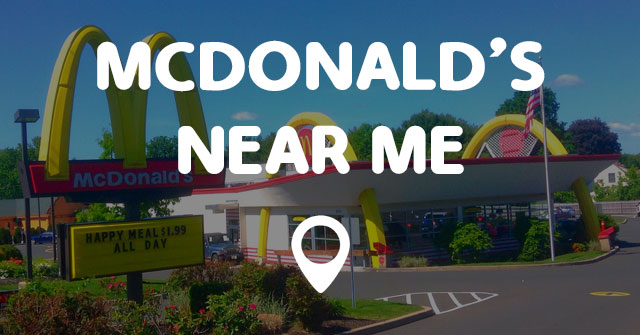 Mcdonald S Near Me Points Near Me