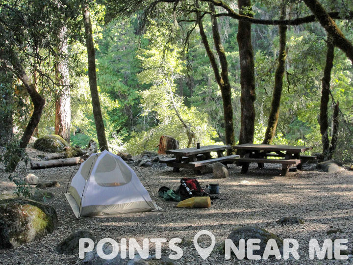 Campgrounds Near Me Points Near Me