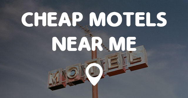 Find Motels Cheap