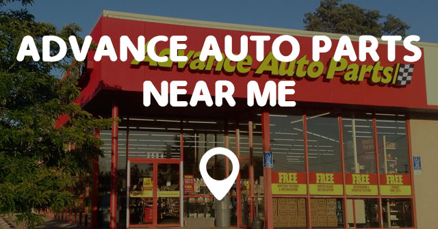 Advance Auto Parts Number >> ADVANCE AUTO PARTS NEAR ME - Points Near Me
