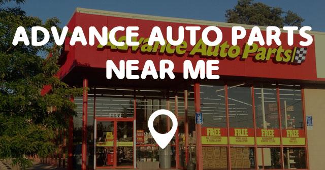 Oil Change Locations >> ADVANCE AUTO PARTS NEAR ME - Points Near Me