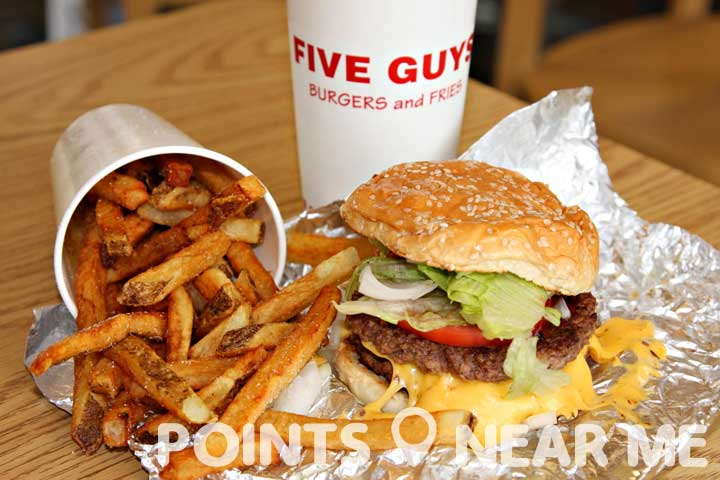 five guys near me