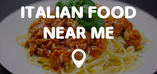 Italian Food Near Me: DRUG STORE NEAR ME