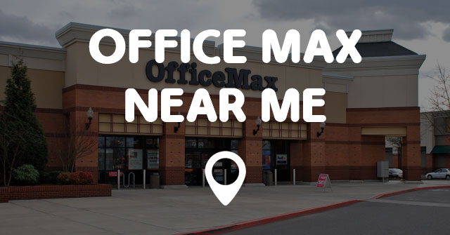 office max near me points near me
