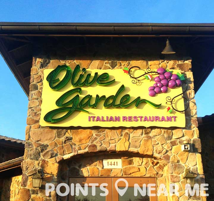 olive garden near me points near me
