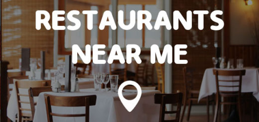 Restaurants Near Me