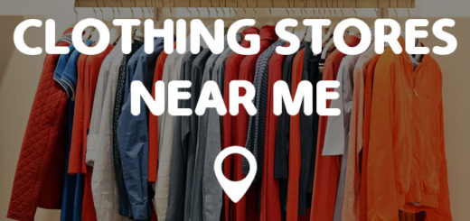 Local clothing stores near me