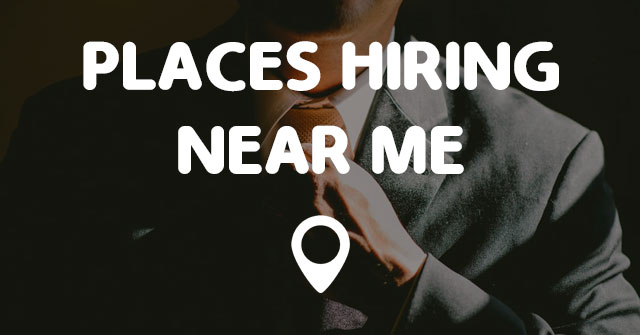 Restaurants With Job Openings Near Me
