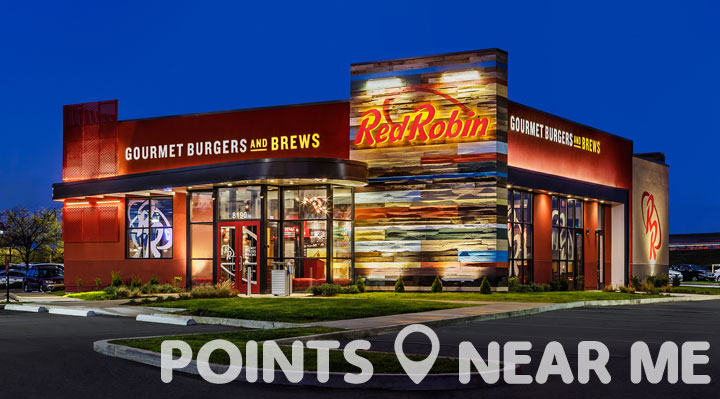 red robin near me points near me