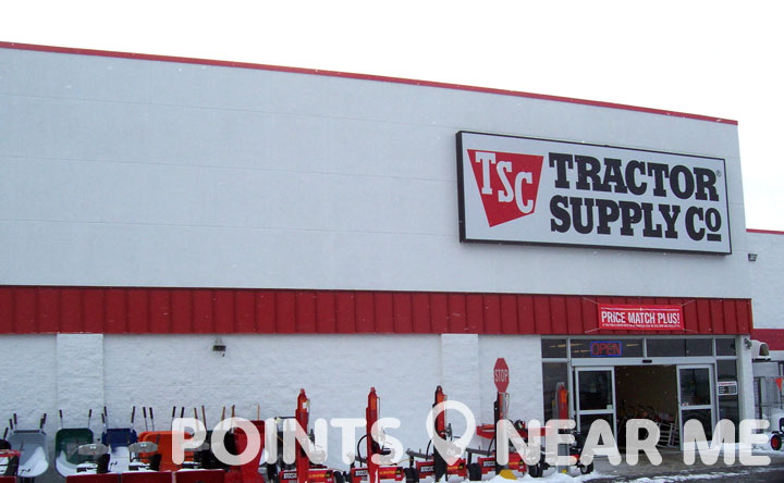 TRACTOR SUPPLY NEAR ME - Points Near Me