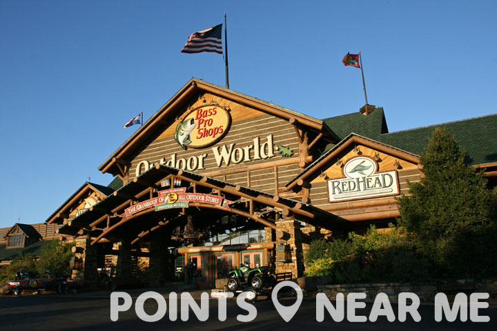 Bass pro shop near me points near me for Fishing sites near me