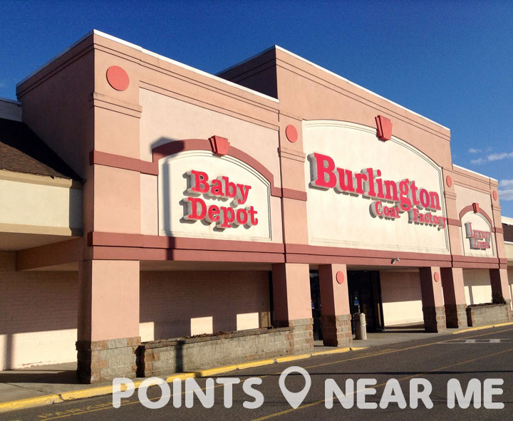 Burlington, formerly known as Burlington Coat Factory, is an American national off-price department store retailer, and a division of Burlington Coat Factory Warehouse Corporation with stores in 45 states and Puerto Rico, with its corporate headquarters located in Burlington Township, New Jersey.