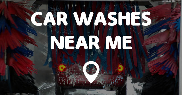 Car Washes Near By