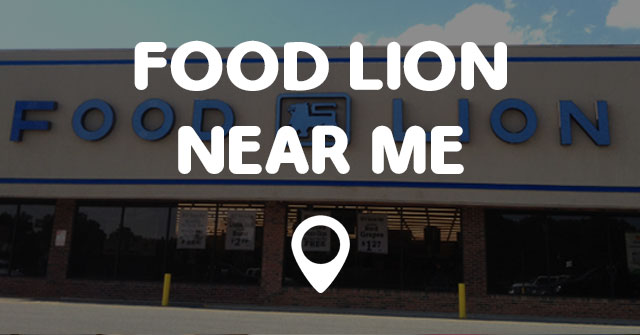 Food Lion Grocery Store Near Me