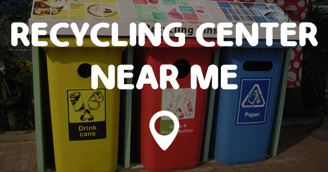 Recycling center near me coupons