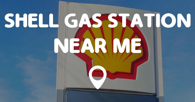 Gas stations shell near me