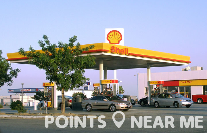 Shell gas station near me points