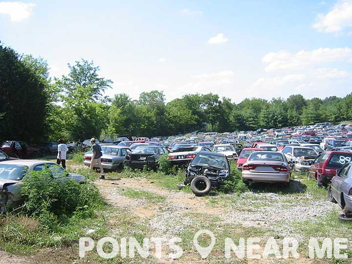 Junkyard Near Me Points Near Me