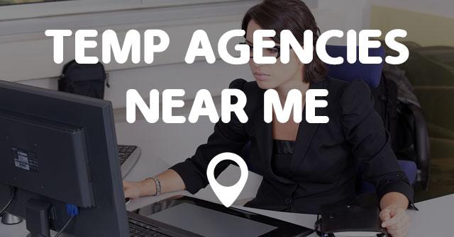 temp agencies near me