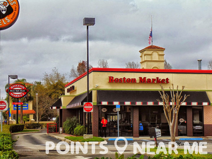 They opened the very first Boston Market, then called Boston Chicken, in Newton, Massachusetts, with a rotisserie and a dream. Today, there are more than Boston Market locations nationwide, focused on making delicious home-cooked meals for people who don't have the ti There are over Boston Market locations in the US.