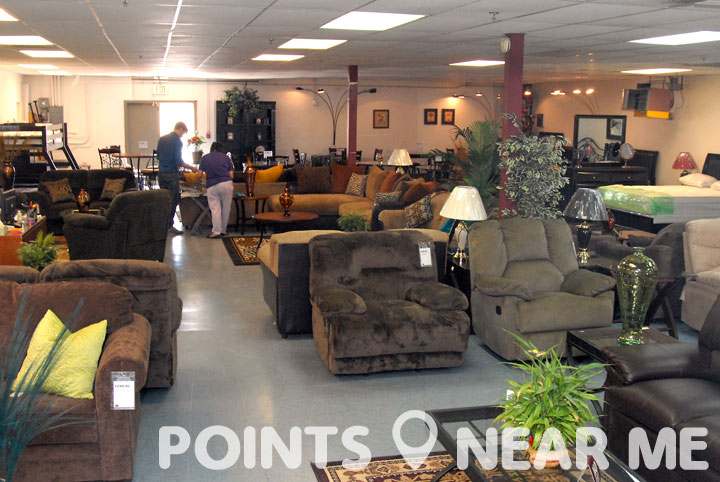 Furniture store near me points near me for Furniture warehouse near me