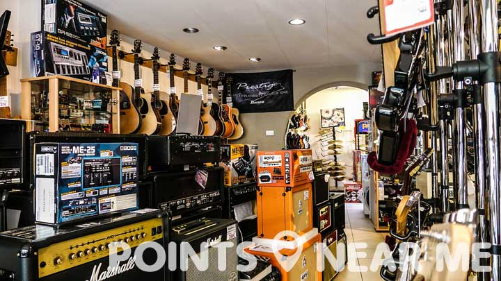 music store near me points near me. Black Bedroom Furniture Sets. Home Design Ideas