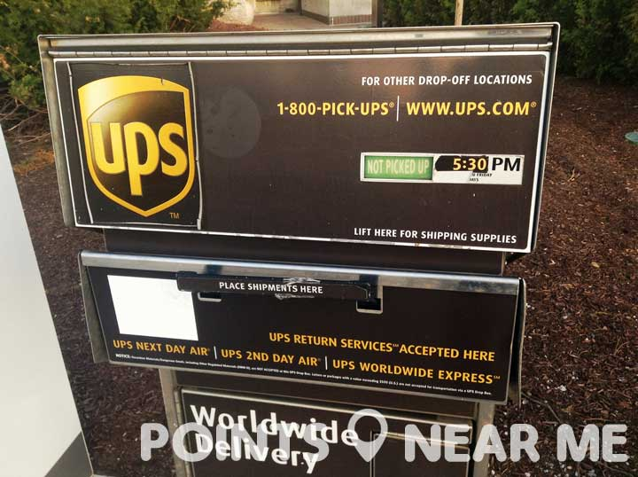 ups drop off near me