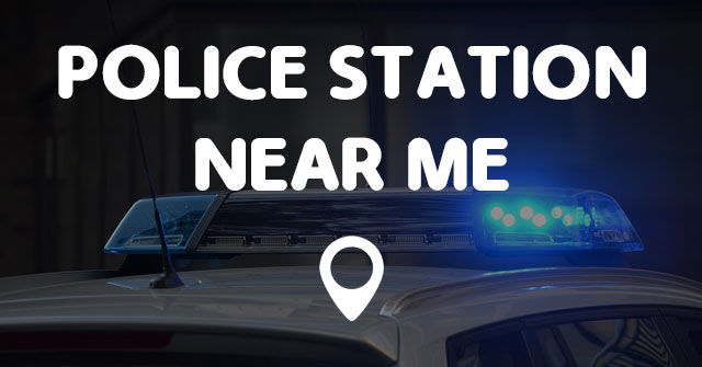 Police station near me points
