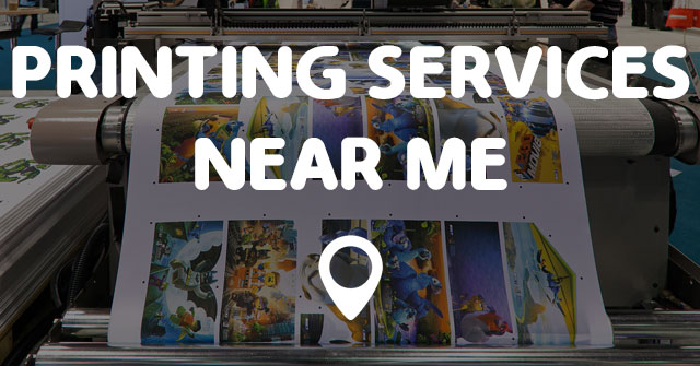 Printing Services Near Me Points Near Me