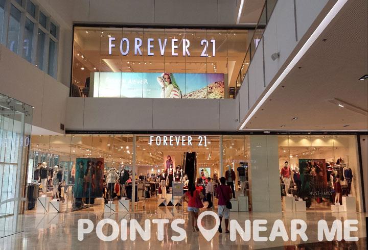 forever 21 near me