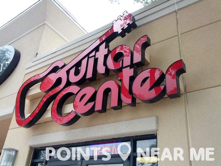 guitar center near me