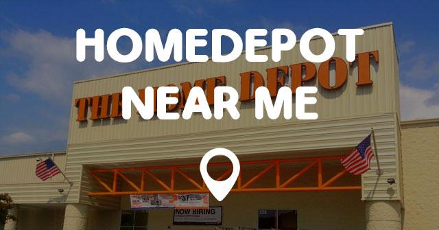 Home Depot Near Me Home Decor