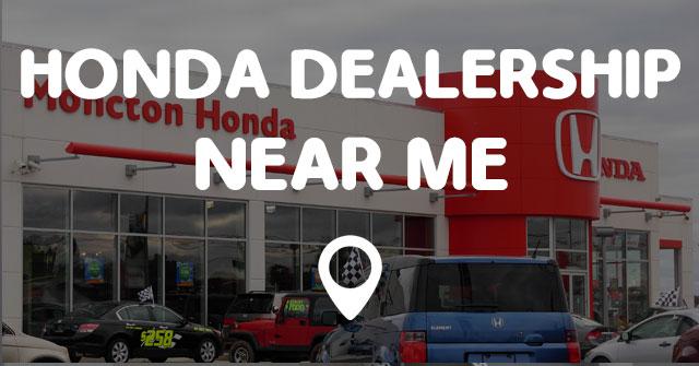 Honda Dealerships Near Me >> Honda Dealership Near Me Points Near Me