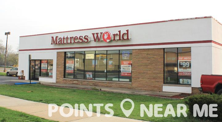 Mattress Store Near Me Points Near Me