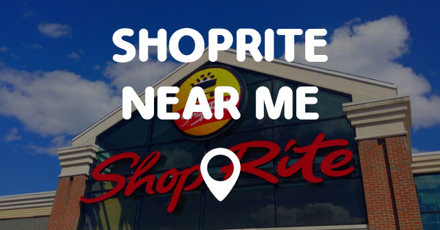 SHOPRITE NEAR ME - Points Near Me