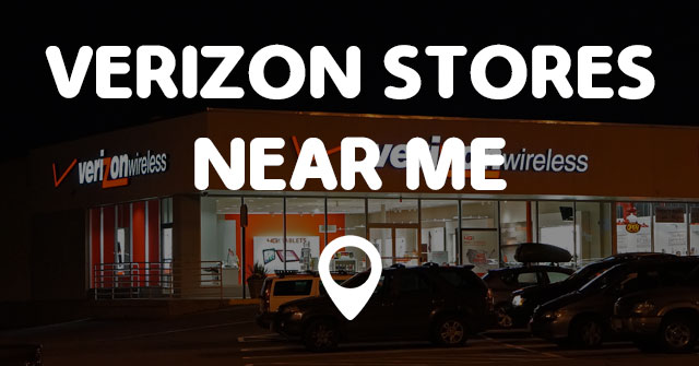 verizon stores near me