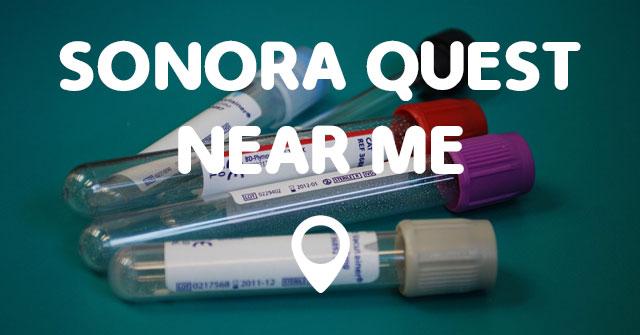 Laboratories Near Me >> SONORA QUEST NEAR ME - Points Near Me