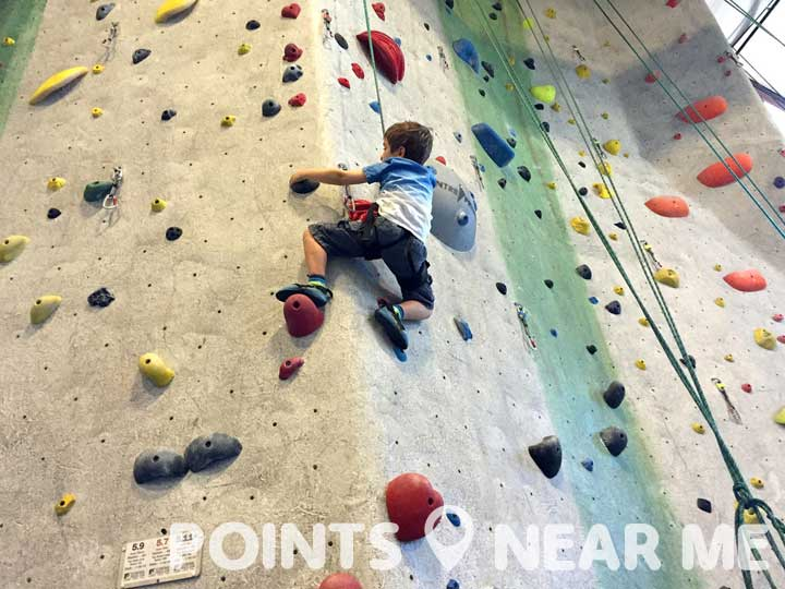 rock climbing near me