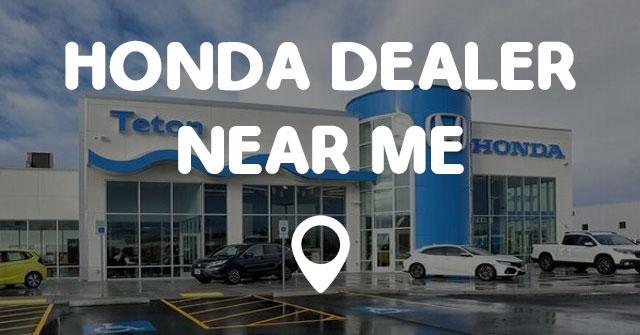 Honda Dealerships Near Me >> Honda Dealer Near Me Points Near Me