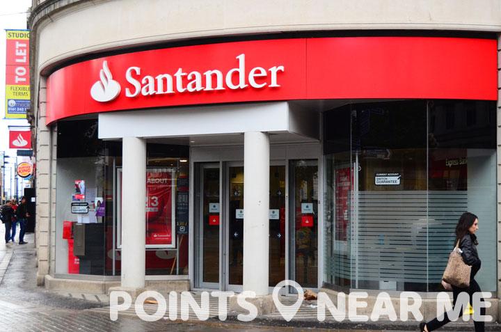 santander bank near me