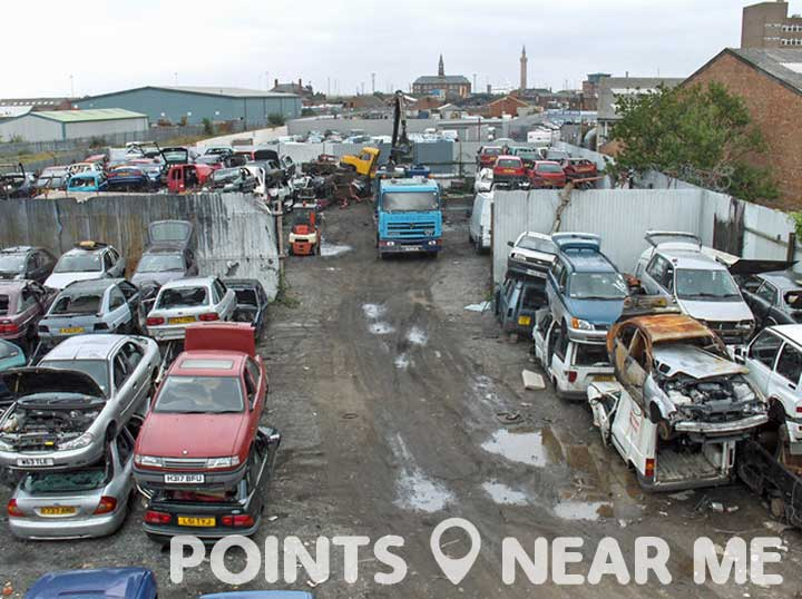 scrap yards near me